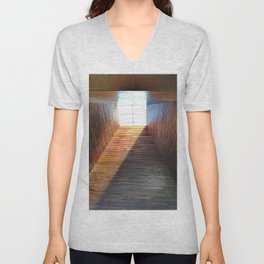 474 - Abstract Design Unisex V-Neck