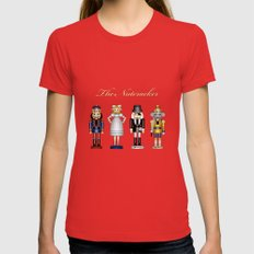 The Nutcracker SMALL Womens Fitted Tee Red