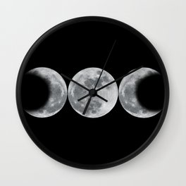 Triple Goddess Wall Clock