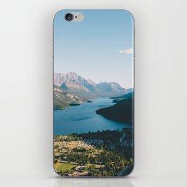 Waterton Village iPhone Skin