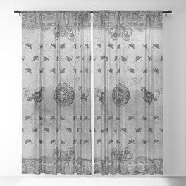 Hobgoblin Bandana Sheer Curtain