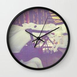 Ride Like The Wind Wall Clock