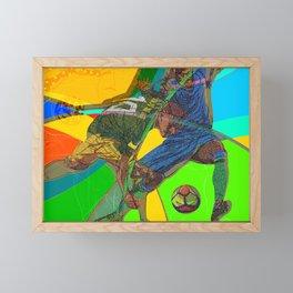 Soccer Party Framed Mini Art Print