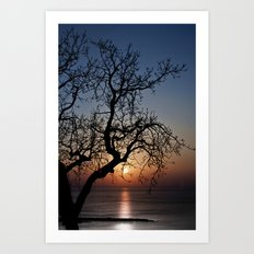 Sorrento Evening Sunset Art Print