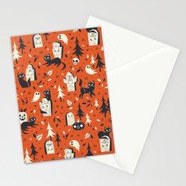 Cemetery Cuties (Orange) Stationery Cards
