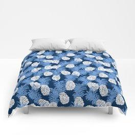 different pineapples Comforters