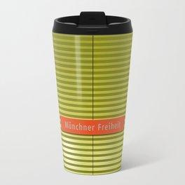 Munich U-Bahn Memories - Münchner Freiheit Travel Mug