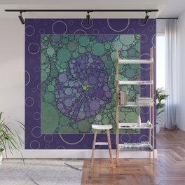 Percolated Purple Potato Flower Reboot  Wall Mural