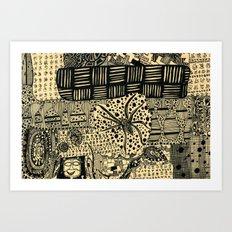 cob web Art Print