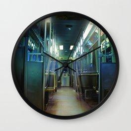 Ghost Train Wall Clock