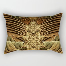 Gateway of the Ancients Temple Rectangular Pillow