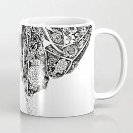 Anatomy Series: Liver Flowers Coffee Mug