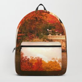 New York City Autumn Magic in Central Park Backpack