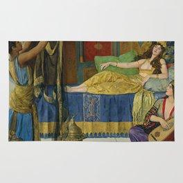 """John Collier """"Myrrh, Aloes and Cassia"""" Rug"""
