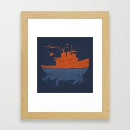 Tugger Framed Art Print
