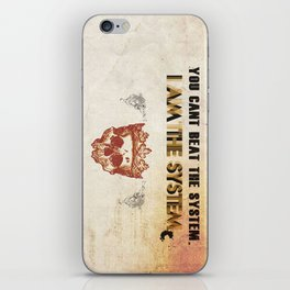 The System iPhone Skin