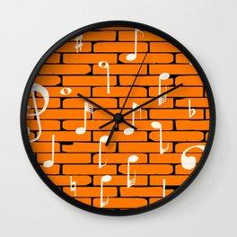 Music Wall Background Wall Clock