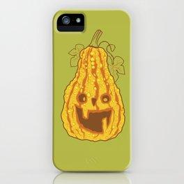 Halloween pumpkin iPhone Case