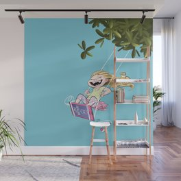 Low Battery Wall Mural