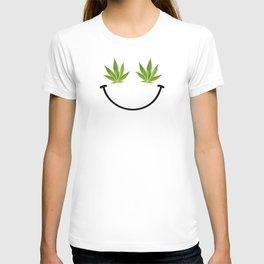 Weed Smile T-shirt