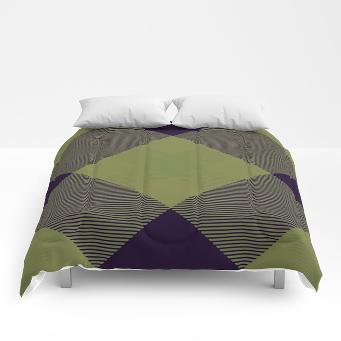 Tartan Pattern 2 Comforters