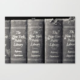 Reference Department, New York Public Library Canvas Print