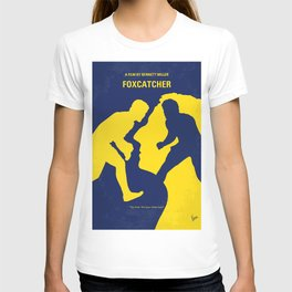 o788 My Foxcatcher minimal movie poster T-shirt
