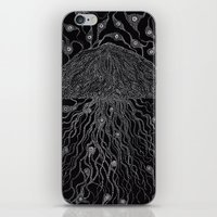 jelly fish iPhone & iPod Skins featuring Jelly Fish by OKAINA IMAGE