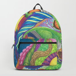 Hare Abstract Backpack