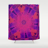the 100 Shower Curtains featuring Abstract 100 by Artisticcreationsusa