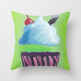 0 Calorie Delight Throw Pillow