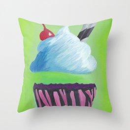 0 Calorie Delight Throw Pillow