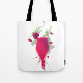 Sorbet fraises chantilly painting colors fashion Jacob's Paris Tote Bag