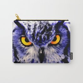 owl look digital painting reacdb Carry-All Pouch
