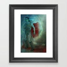 Thor & Loki - dream brother Framed Art Print