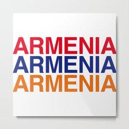 ARMENIA Metal Print