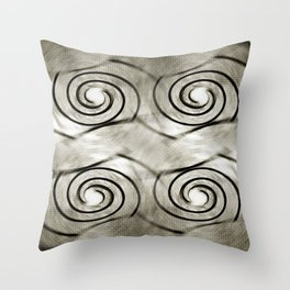 Shell Relaunch Patterned Throw Pillow