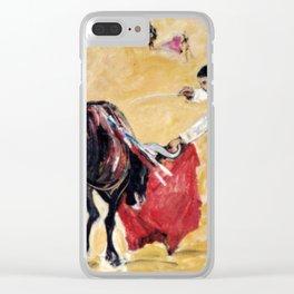 Bullfight , Valencia,SPAIN Clear iPhone Case