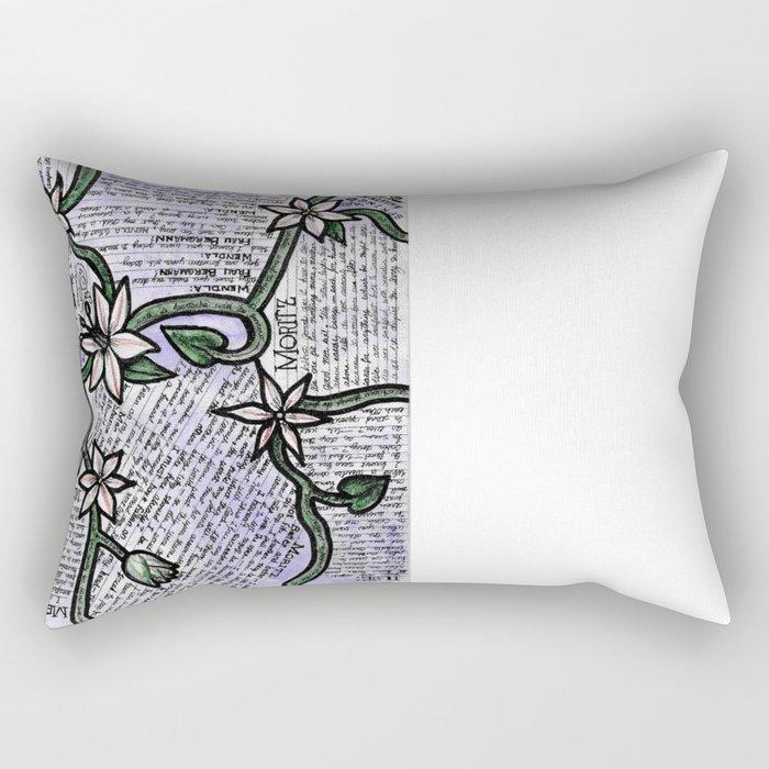 Spring Awakening Quotes Rectangular Pillow