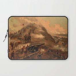 Civil War Capture of Fort Fisher by J.O. Davidson Laptop Sleeve