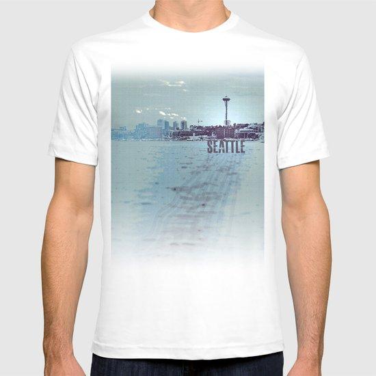 Seattle blues T-shirt