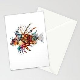 Lion Fish Rainbow Stationery Cards