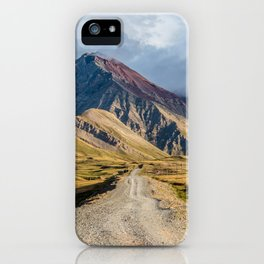 The Pamir Highway - A Road Trip through Asia iPhone Case