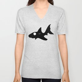 Shark Unisex V-Neck