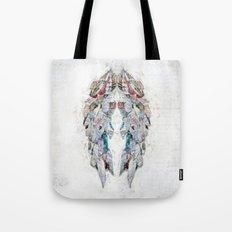 Paper Newsprint Wings Tote Bag