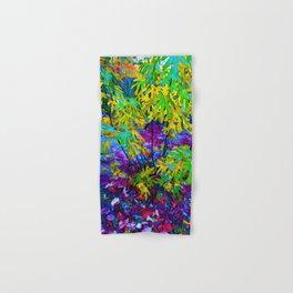 Key West Delight of Colorful Foliage Hand & Bath Towel