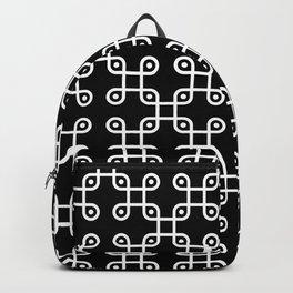 UFO knot pattern Backpack