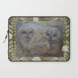 Eagle owls nest Laptop Sleeve