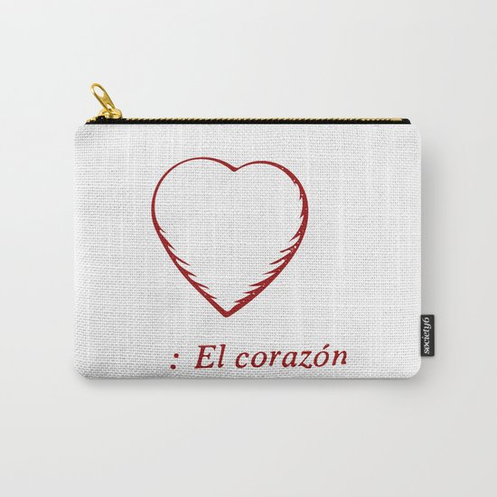 El Corazon Carry-All Pouch