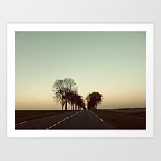 There is this undiscovered space, 1 Art Print